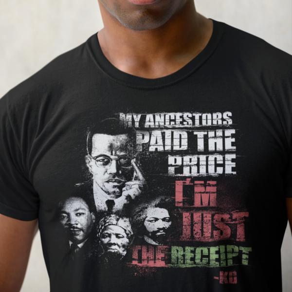 My Ancestors T-shirt 1