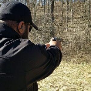KD pistol shooting