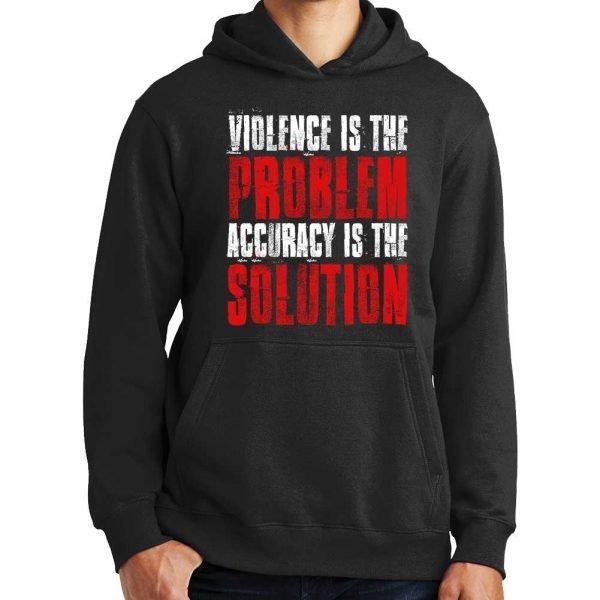Violence_Is_The-Problem_Hoodie_Black