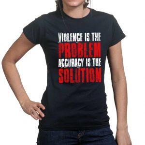 Violence_Is_The-Problem_Ladies_Black
