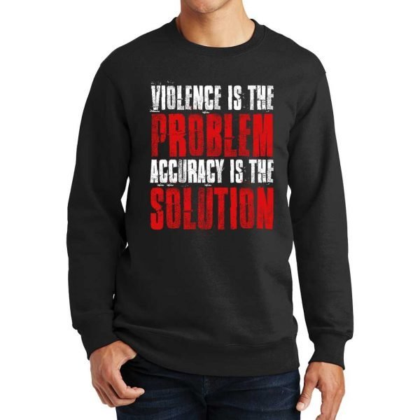 Violence_Is_The-Problem_Sweater_Black